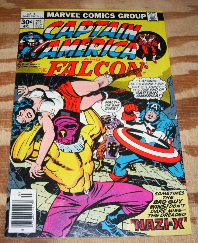 Captain America #211 vf/nm 9.0