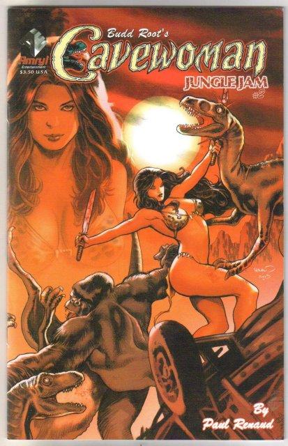 Budd Root's Cavewoman Jungle Jam 2 issue comic book mini-series mint