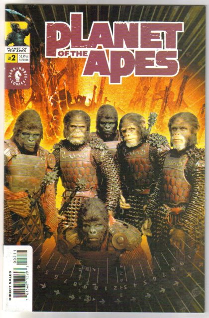 Planet of the Apes 6 issue comic book mini-series near mint