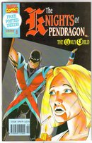 Knights of Pendragon 18 issue complete series comic books near mint