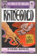 The Ring of the Niberlung volume 1 The Rhinegold comic book mini-series of 4 near mint