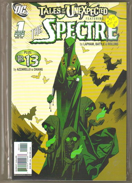 Tales of the Unexpected featuring The Spectre 8 issue comic book series near mint or better