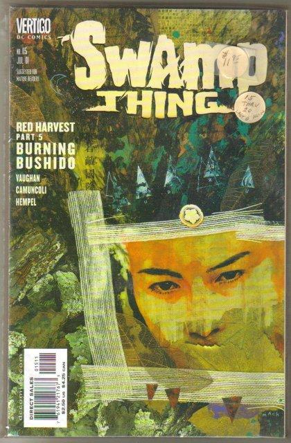 DC Vertigo Swamp Thing last siz issues comic books near mint or better