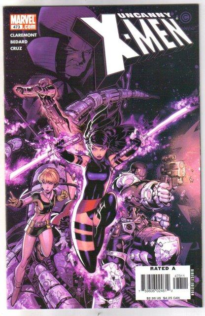 Uncanny X-men The First Foursaken complete saga comic books near mint or better