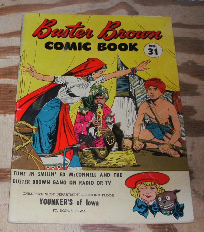 Buster Brown #31 promotional comic book vg 4.0