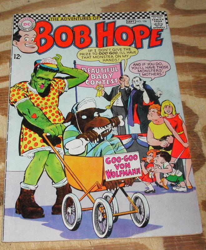 Adventures of Bob Hope #106 comic book vg/fn 5.0