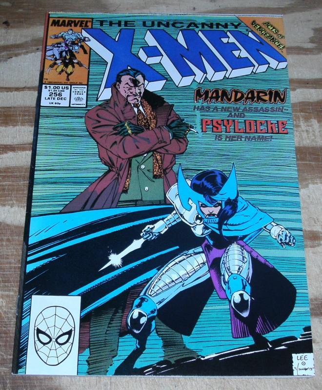 Uncanny X-men #256 near mint plus 9.6