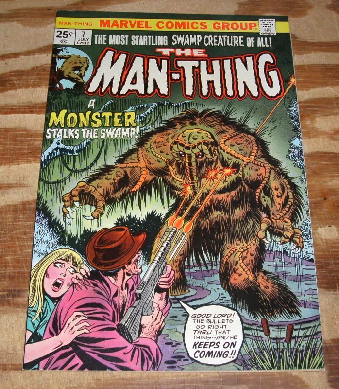 Man-thing #7 nm 9.4