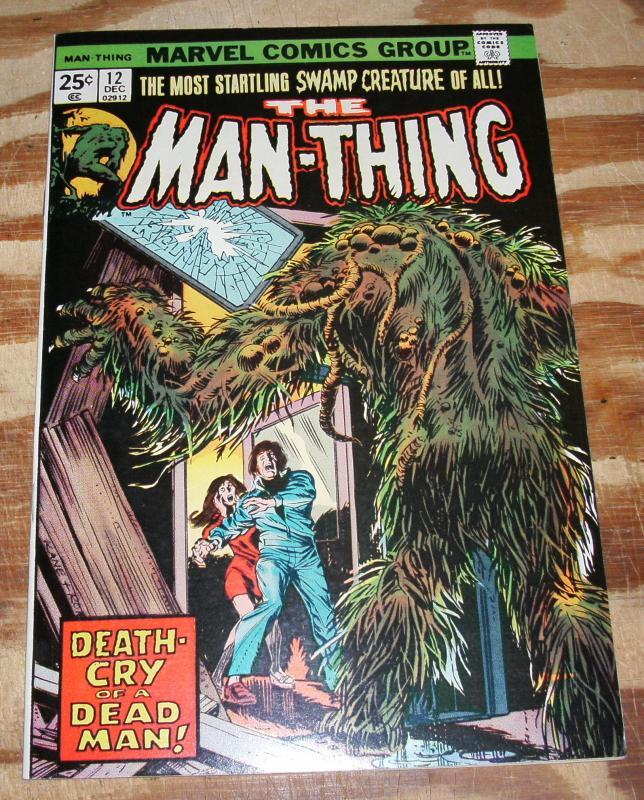 Man-thing #12 comic book nm 9.4