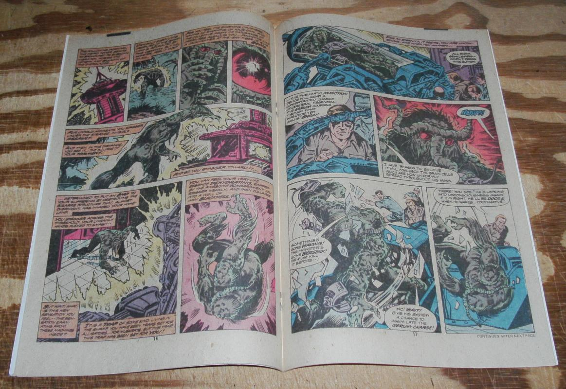 The Man-thing volume 2 issue #1 comic book near mint 9.4