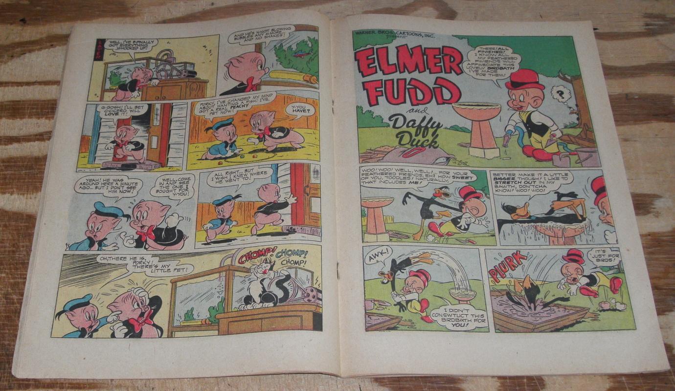 Looney Tunes #125 vg+ 4.5