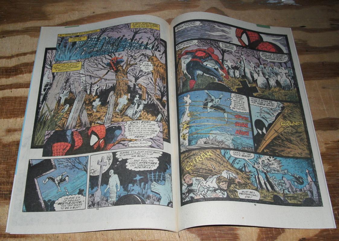 The Amazing Spider-Man #308 comic book near mint 9.4