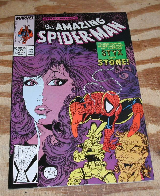 The Amazing Spider-Man #309 near mint 9.4