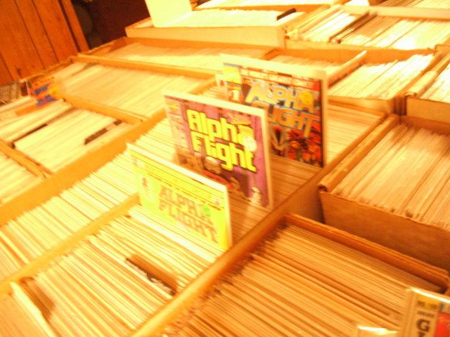 Alpha Flight comic book collection of 75 comics near mint or better