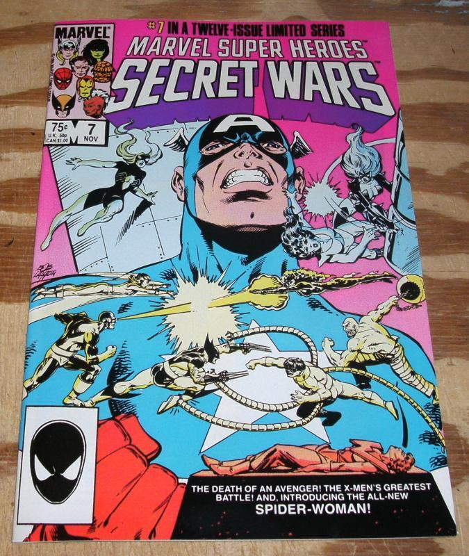 Secret Wars #7 mint 9.9