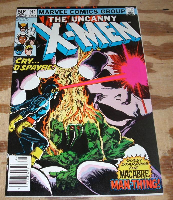 The Uncanny X-men #144 nm 9.4