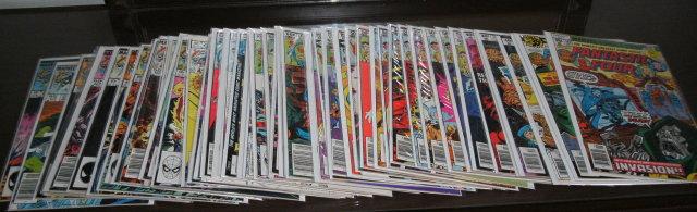 Fantastic Four 50 issue assortment of comic books #198 thru #280