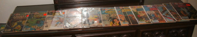 Ghost comic book collection of 12