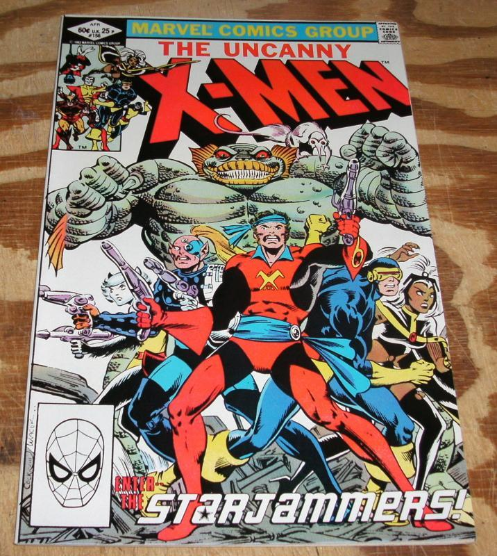 Uncanny X-men #156 comic book mint 9.9