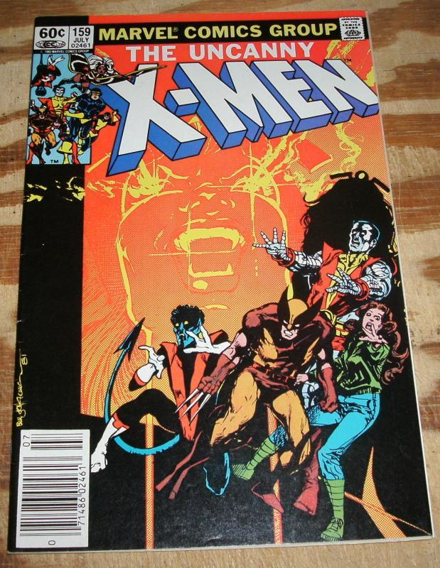 The Uncanny X-men #159 vf/nm 9.0