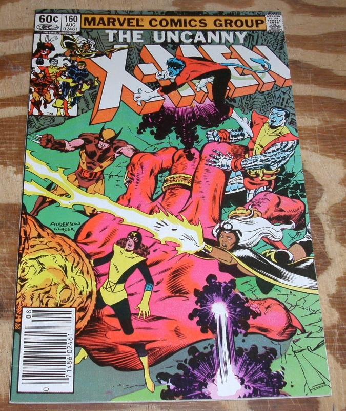 The Uncanny X-men #160 nm 9.4