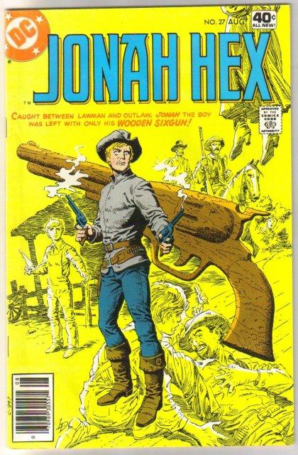 Jonah Hex #27 comic book very fine 8.0