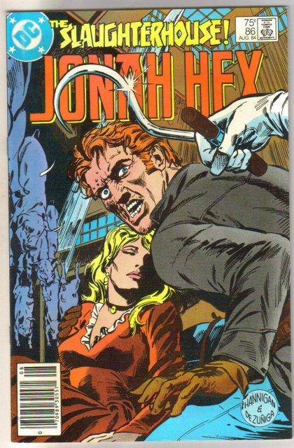 Jonah Hex #86 comic book near mint 9.4