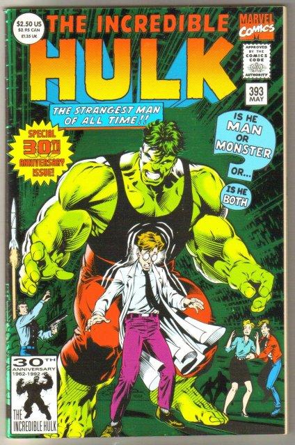 Incredible Hulk #393 comic book mint 9.8