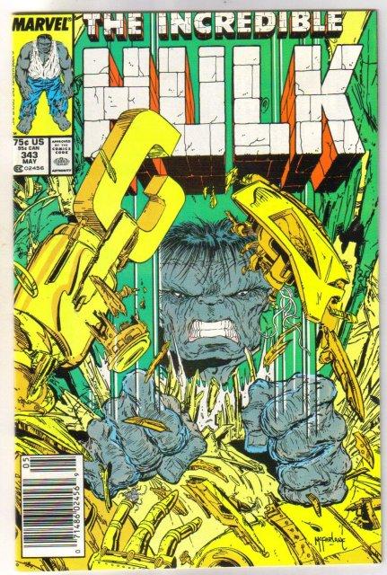 Incredible Hulk #343 comic book mint 9.8