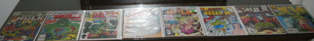 Incredible Hulk first series comic book collection of 8 annuals mostly mint 9.8