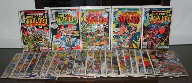 John Carter, Warlord of Mars 28 issue collection mostly near mint 9.4
