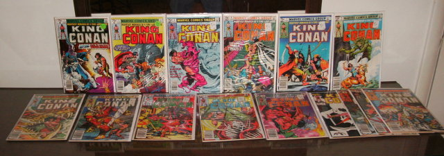 King Conan 15  issue comic book collection
