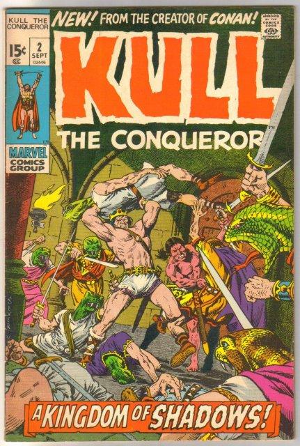 Kull the Conqueror #2 comic book very fine 8.0