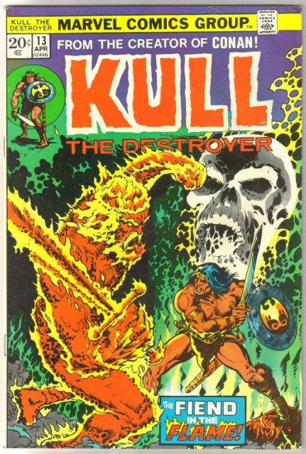 Kull the Conqueror #13 comic book very fine/near mint 9.0