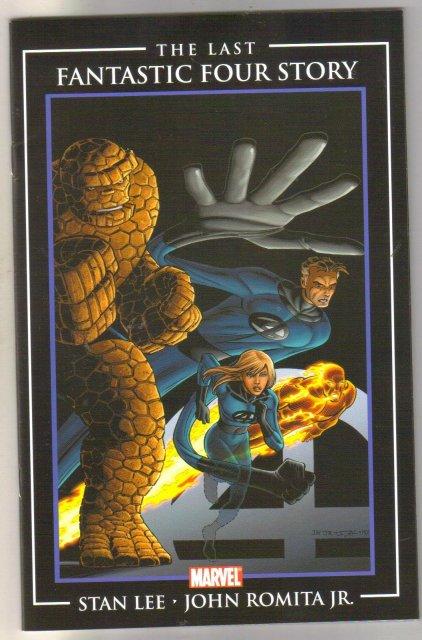 The Last Fantastic Four Story comic book near mint 9.4