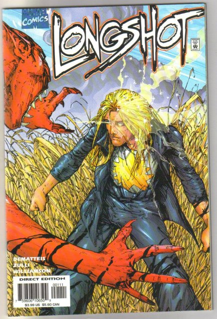 Longshot #1 1998 one-shot comic book mint 9.8