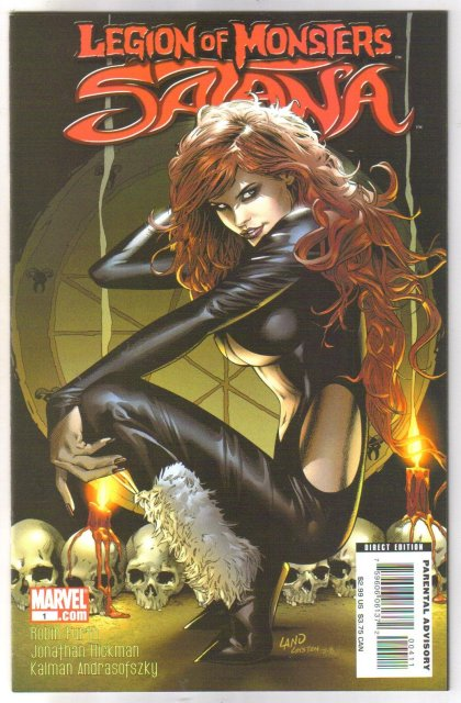 Legion of Monsters Satana  comic book mint 9.8