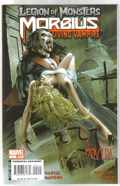 Legion of Monsters Morbius  comic book mint 9.8