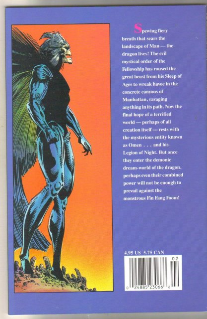 The Legion of Night #2  comic book mint 9.8