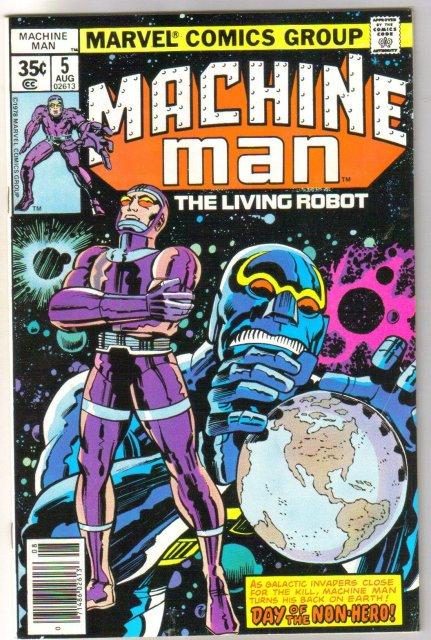 Machine Man #5 comic book very fine/near mint 9.0