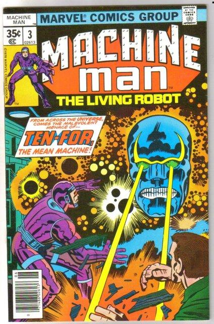 Machine Man #3 comic book mint 9.8