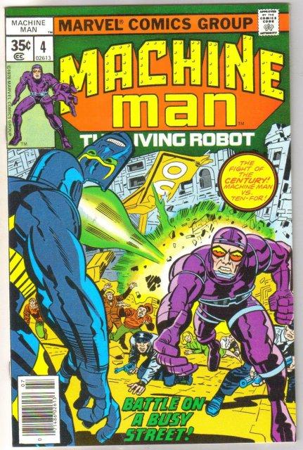 Machine Man #4 comic book mint 9.8