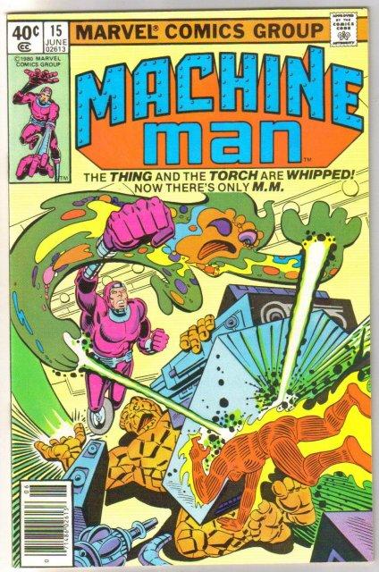 Machine Man #15 comic book mint 9.8
