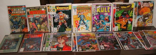 Marvel comic book assortment of 24 comic books