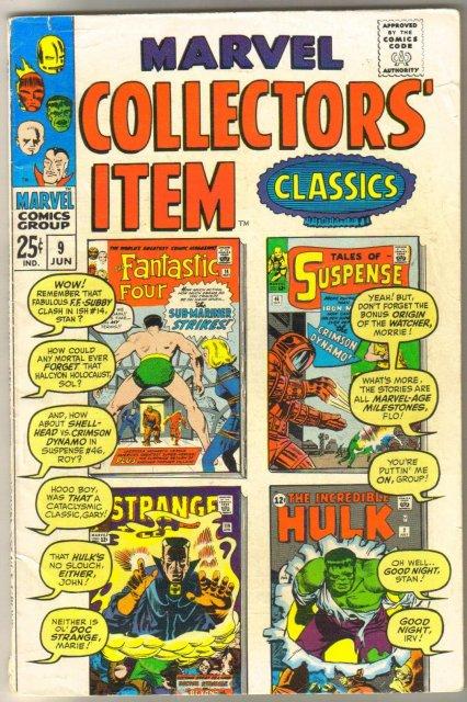 Marvel Collectors' Item Classics #9 comic book very good/fine 5.0