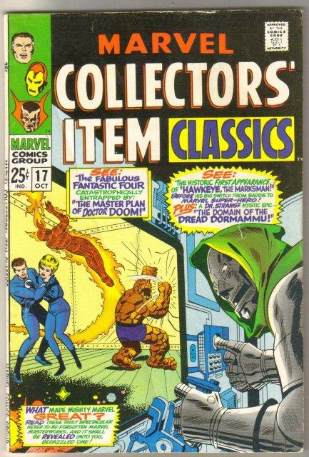 Marvel Collectors' Item Classics #17 comic book fine 6.0