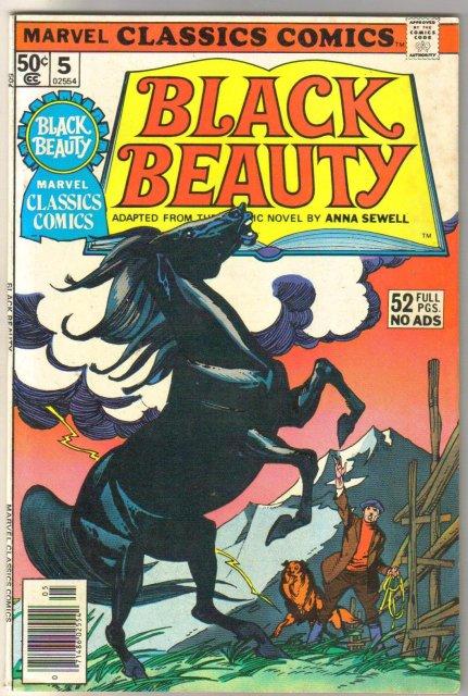 Marvel Classics Comics #5 Black Beauty comic book fine/very fine 7.0