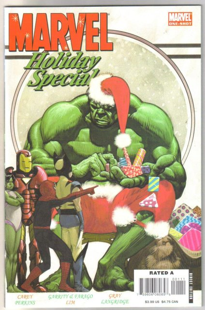 Marvel 2006 Holiday Special comic book mint 9.8