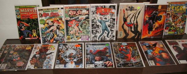 Marvel assortment of 15 various comic books