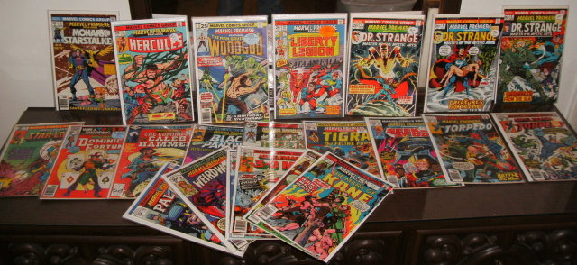 Marvel Premiere 22 comic book assortment